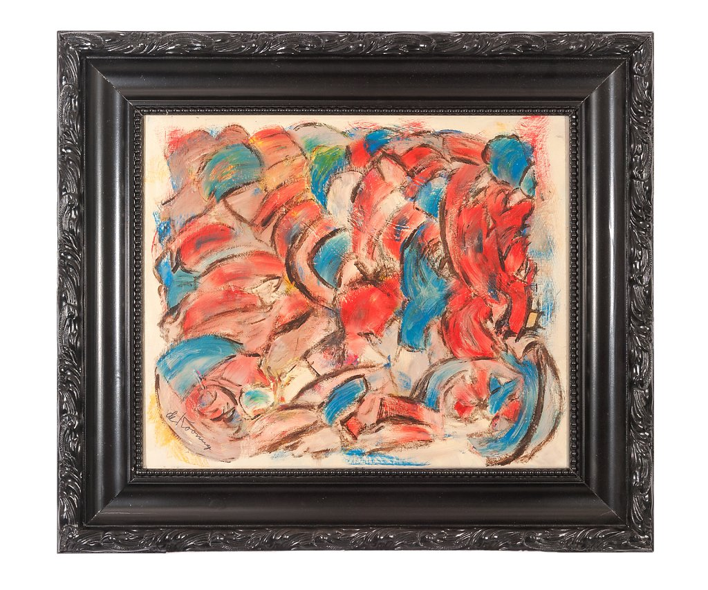 001 Willem de Kooning 73x73 cm